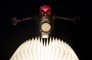 Robot and the Book of Light